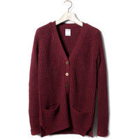 Pull & Bear Pearl Stitch Cardigan