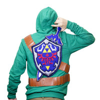 Zelda Sword and Shield Sweater