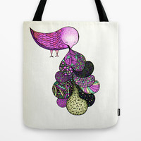 and your bird can puke Tote Bag by Mariana Beldi | Society6