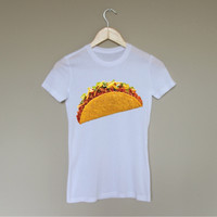 Single Taco Shirt - White