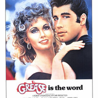 Grease 27x40 Movie Poster (1978)
