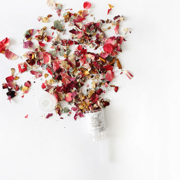 Floral Eco-Friendly Push-Pop Confetti