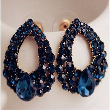 Sapphire Earrings Jewelry