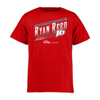Youth Ryan Reed Red Crank Shaft T-Shirt