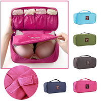 Waterproof Portable Travel Protect Bra