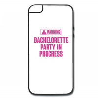 warning bachelorette party in progress iPhone 5/5s Hard Case