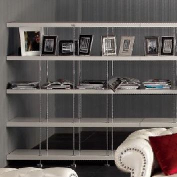 White Modern Bookcase & Room Divider