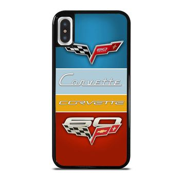 CHEVY CORVETTE LOGO iPhone X Case Cover