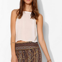 Ecote Sheena Studded Mini Skirt - Urban Outfitters