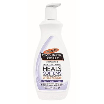 Palmer's Cocoa Butter Formula Body Lotion Fragrance Free | Walgreens