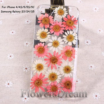 Phone cases, iPhone 5s case, iPhone 5c case, Pressed Flower iPhone 5 case, iPhone 4s case, Galaxy S4 case, Galaxy S3 case, Real Flowers-042