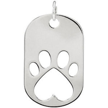 Our Cause for Paws™ Dog Tag Necklace or Pendant