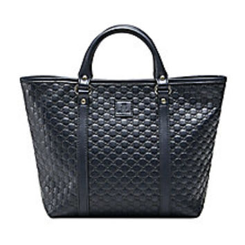 Gucci - Soft Margaux Leather Tote  - Saks Fifth Avenue Mobile
