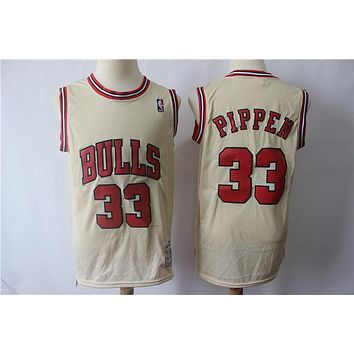 Chicago Bulls 33 Scottie Pippen Vintage Jersey