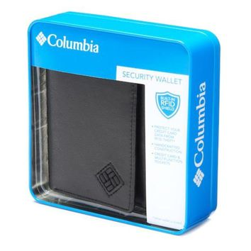 ONETOW Men's Columbia Trifold Security Wallet