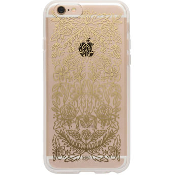 Gold Floral Lace iPhone 6 Case