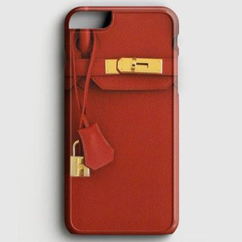 Red Birkin iPhone 7 Case
