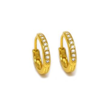 Mini Diamond QT Hoops