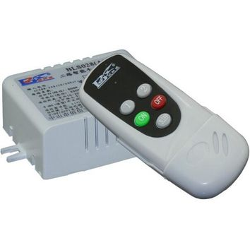 BSDE BLS028B 2CH Smart Digital Wireless Remote Control Switch RF Receiver for Home  Appliance