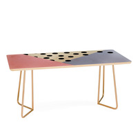 Allyson Johnson Mod Rose Pink Coffee Table