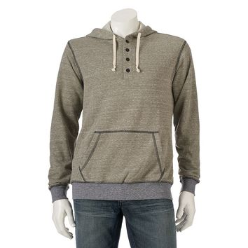Unionbay French Terry Hooded Henley