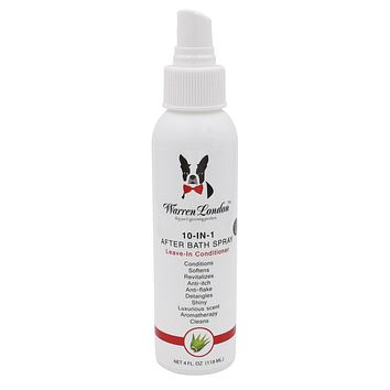 10-In-1 After Bath Conditioning Spray for Dogs Coat - Leave In
