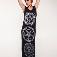 Long Symbol Dress from Kill Star