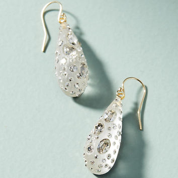 Crystalline Drop Earrings