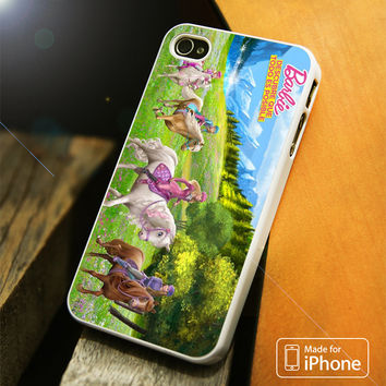 Barbie And Her Sisters In a Pony Tale iPhone 4S/5S/5C/SE/6S Plus Case