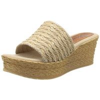 Sbicca Womens Bungalow Braided Platform Wedge Sandals