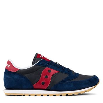 Saucony Jazz Low Pro Men's - Navy/Red
