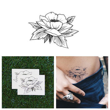 Open Up - Temporary Tattoo (Set of 2)