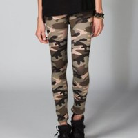 FULL TILT Camo Print Womens Leggings