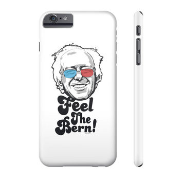 Bernie Sanders Pop Art Portrait  Phone Case