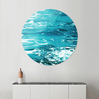 «Oceanology», Limited Edition Disk Print by Uma Gokhale - From $99 - Curioos