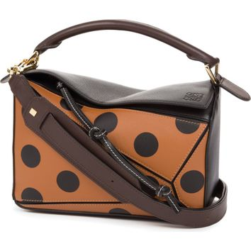 Loewe Puzzle Circles Calfskin Leather Bag | Nordstrom
