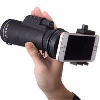 Universal 10x40 Hiking Concert Camera Lens Zoom Phone Telescope Camera Lens Phone Holder For Smartphone