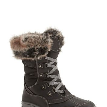 Women's Santana Canada 'Myrah' Faux Fur Waterproof Boot,