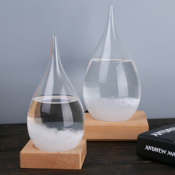 Water droplets weather forecast bottle storm bottles, weather display bottles, creative glass crafts home furnishings