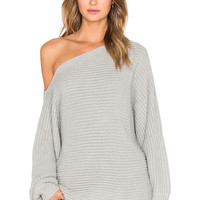 RISE OF DAWN Smooth Talker Sweater in Grey