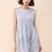 Fragrance in the Air Embroidered Airy Dress
