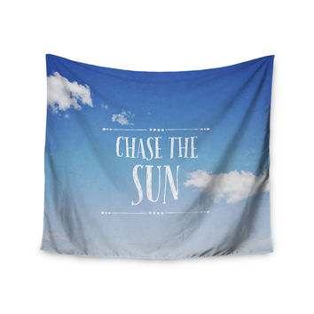 "Susannah Tucker ""Chase the Sun"" Beach Sky Wall Tapestry"