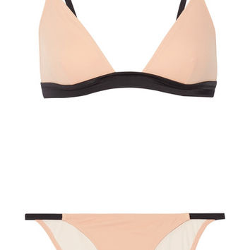 Solid and Striped - The Morgan triangle bikini