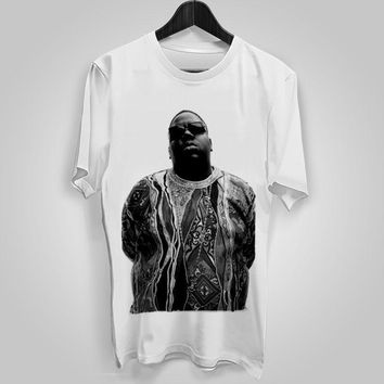 ca auguau Mens Rare T Shirt BIGGIE SMALL
