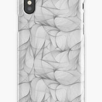 'Swirls 1' iPhone Case/Skin by foundtreasures