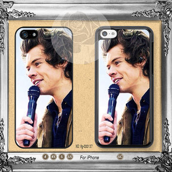 One Direction Harry Styles iPhone 5s case, iPhone 5C Case iPhone 5 case, iPhone 4 Case One Direction iPhone case Phone case ifg-000137