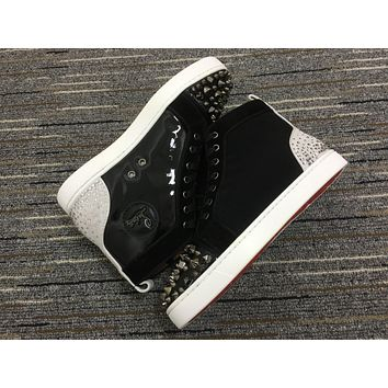 Christian Louboutin Cl Lou Spikes Orlato Sneakers Reference 7