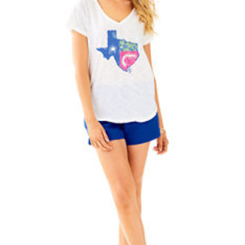 Lilly Loves Texas Colie Top | 30456 | Lilly Pulitzer