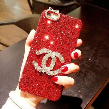 "Hot  Sale ""CHANEL"" 2018 ! iPhone X iPhone 8 plus - Stylish Lovely On Sale Hot Deal Matte Couple Phone Case For iphone 6 6s 6plus 6s plus Red I"