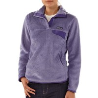 Patagonia Women's Re-Tool Snap-T® Fleece Pullover | Tundra Purple - Concord Purple X-Dye